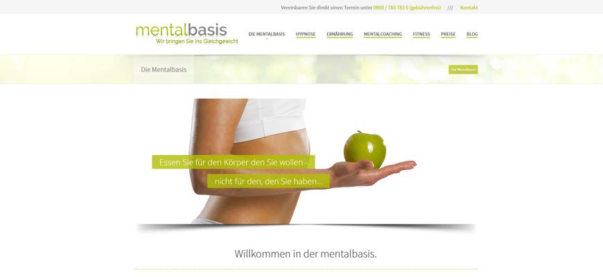 Launch der Webseite MENTALBASIS