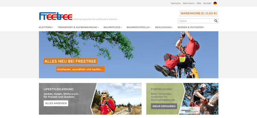 Relaunch – Freetree ist online