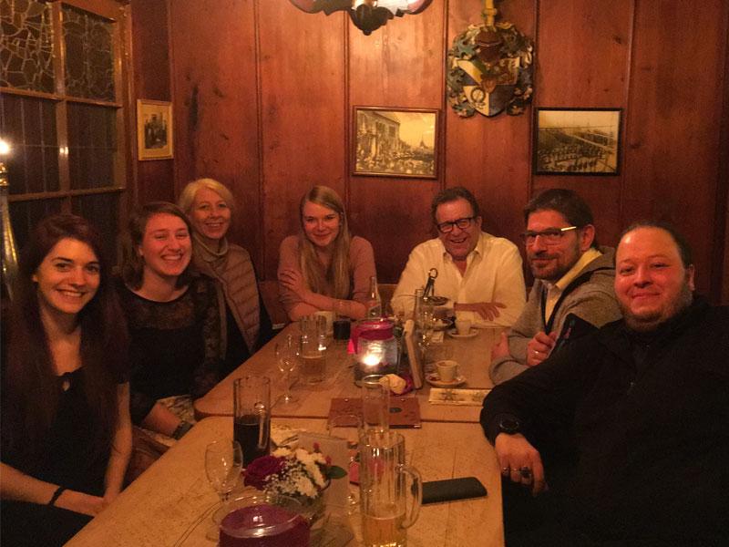Weihnachtsfeier auf der Wachenburg