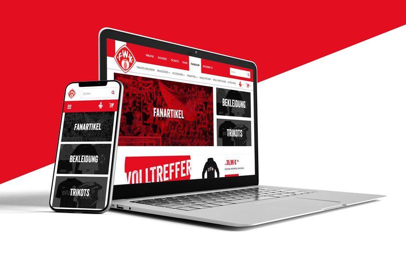 Neuer Onlineshop für alle Fans der Würzburger Kickers